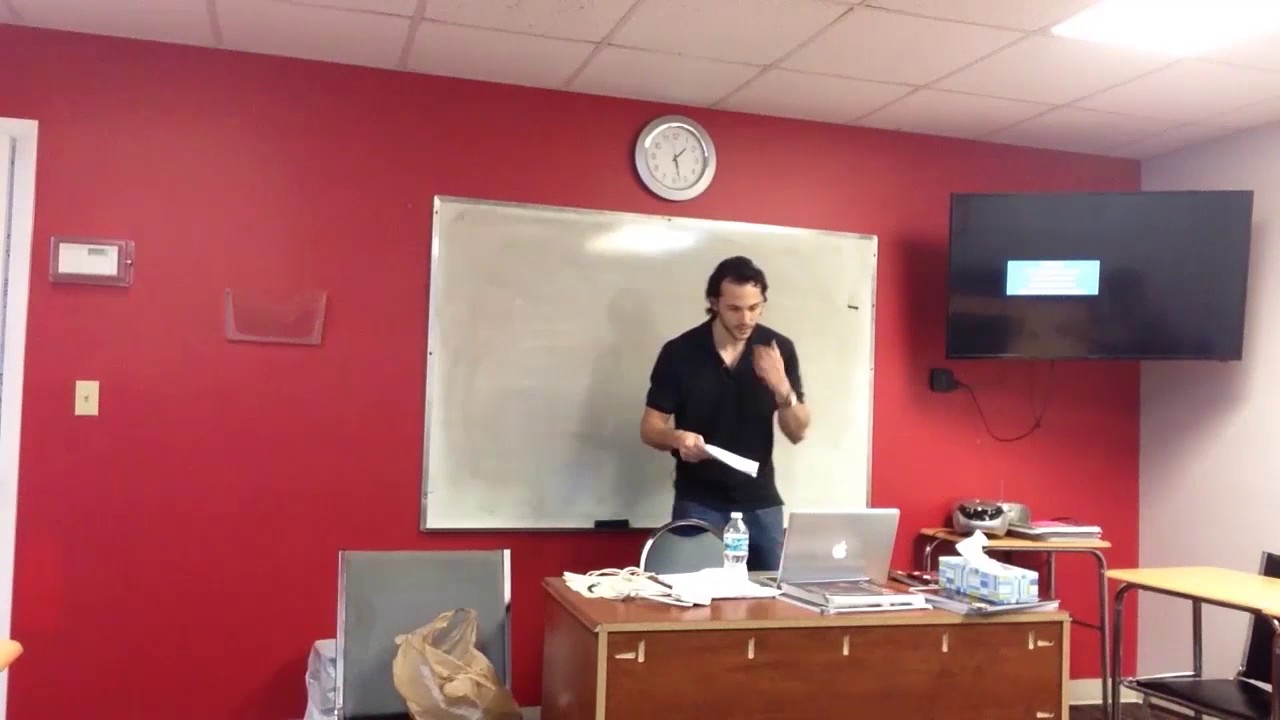 OTP English Lesson – Richard – Warm Up – Gym
