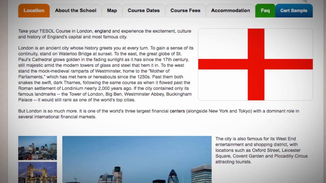 TESOL Course in London, United Kingdom   Teach & Live abroad!