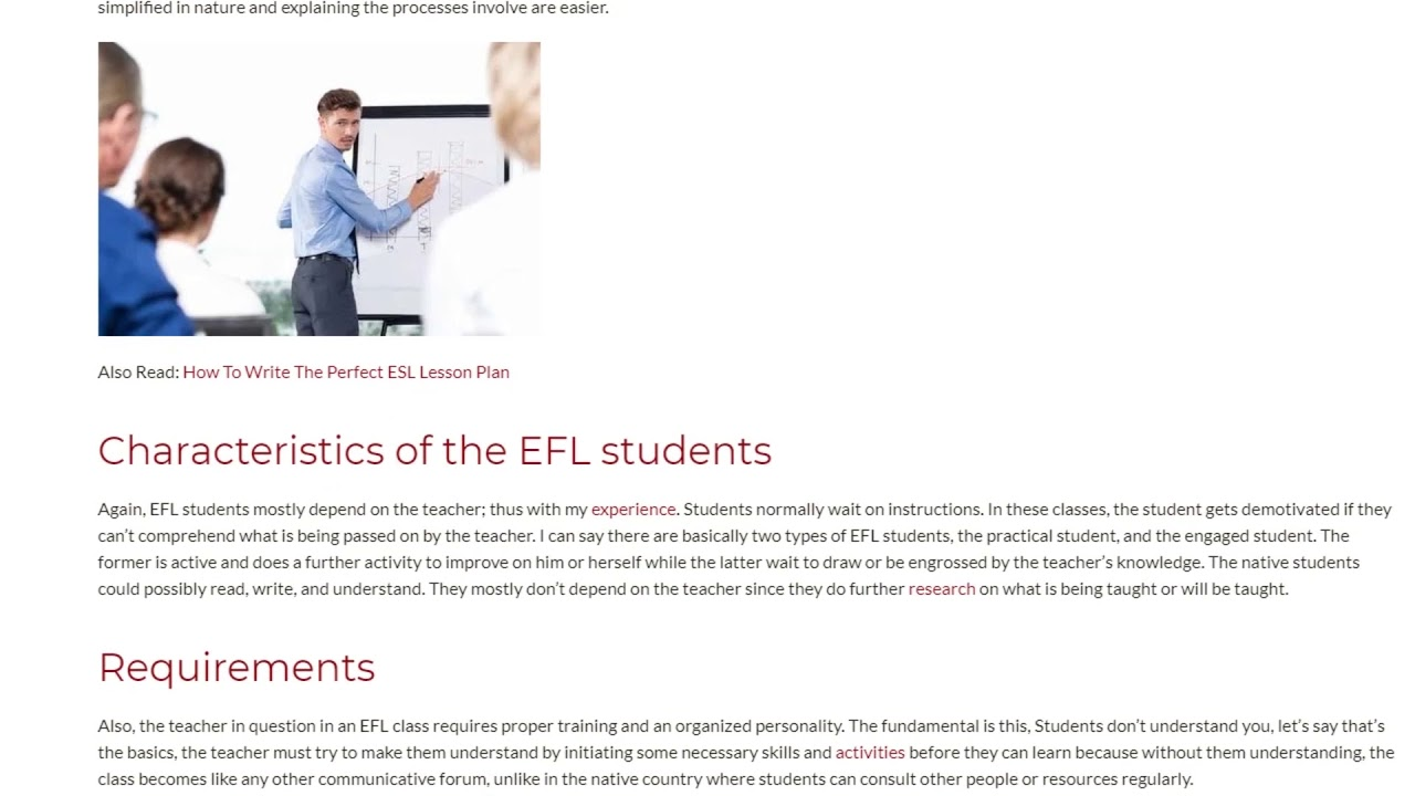 My Unexpected Discovery in TEFL Teaching | ITTT TEFL BLOG