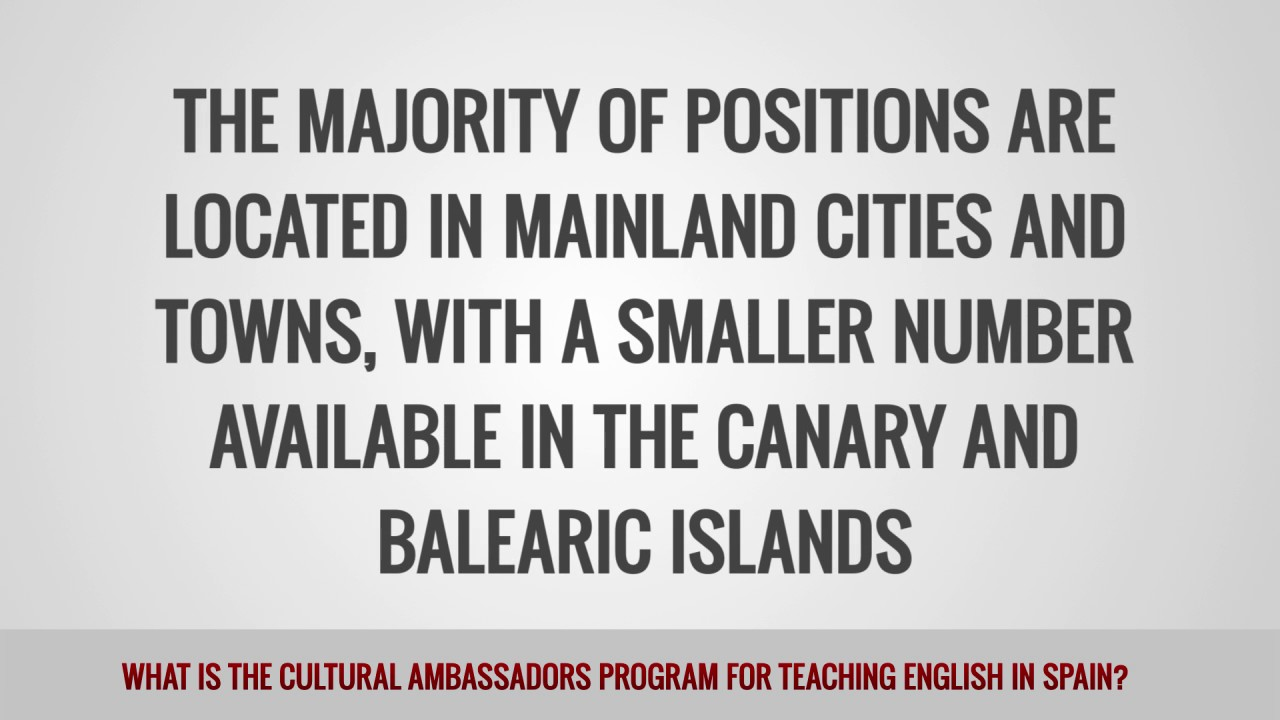 ITTT FAQs – What is the Cultural Ambassadors Program for teaching English in Spain?