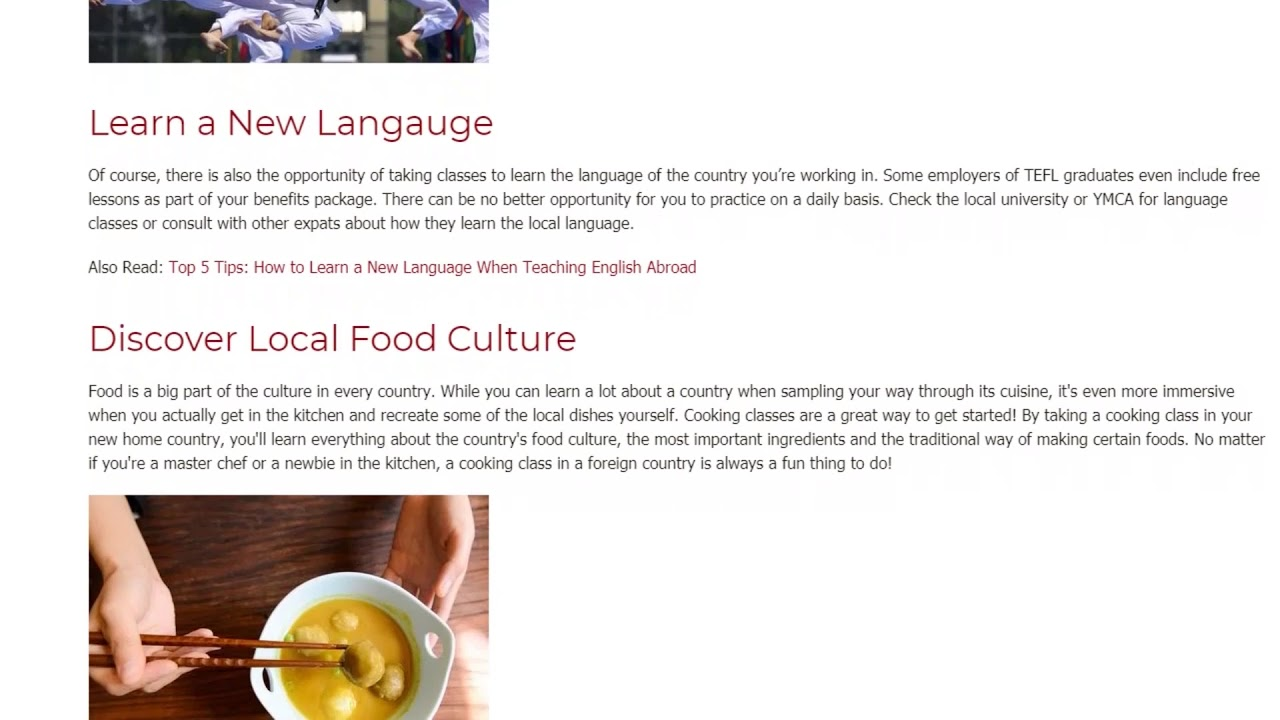 9 Hobbies Every EFL Teacher Needs To Try When Teaching English Abroad | ITTT TEFL BLOG