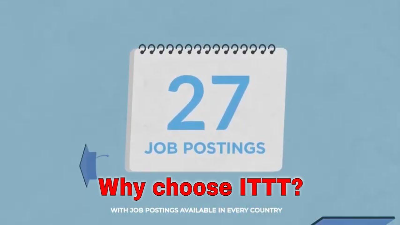Why choose TEFL Certification with ITTT: International Job Postings