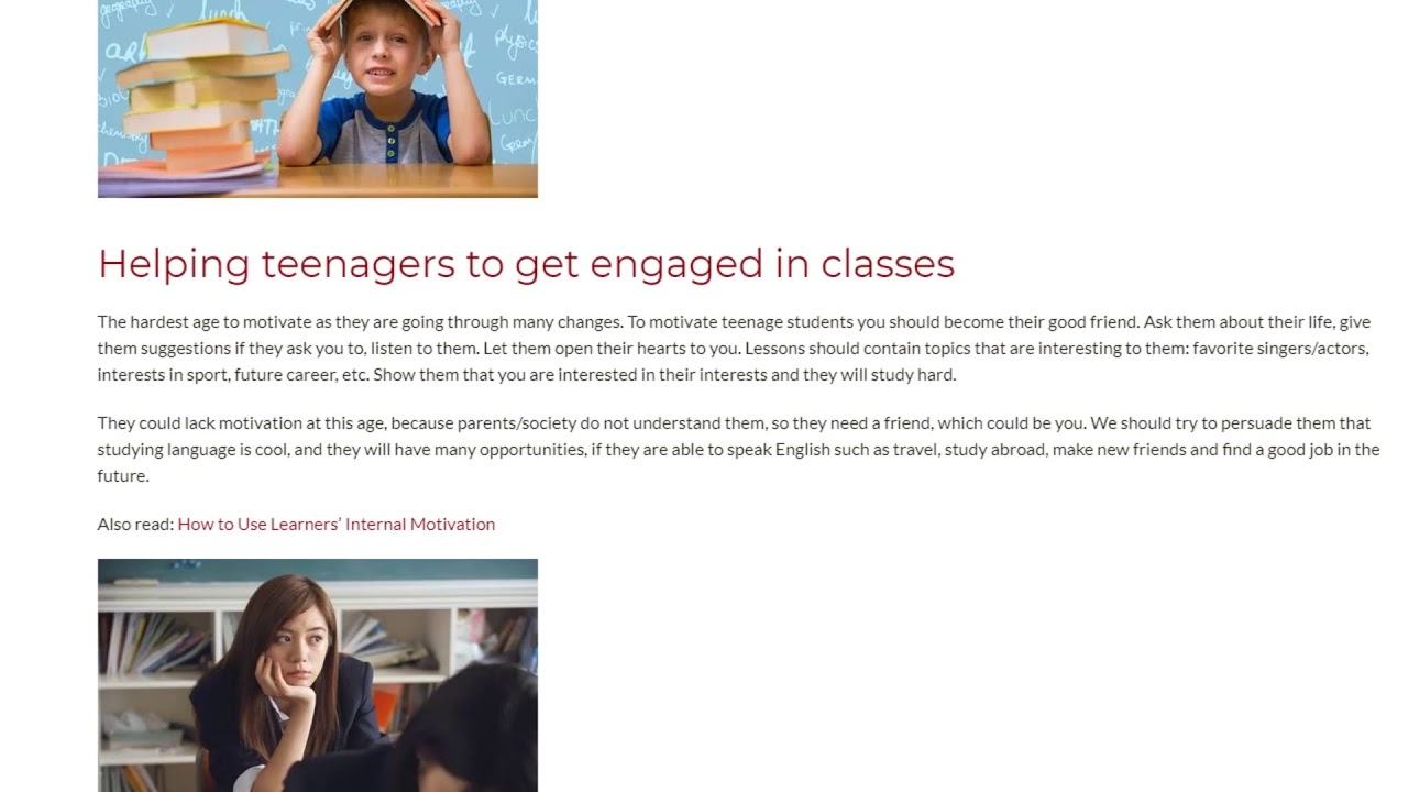 Key Ways to Motivate Students from Young Learners to Adults   ITTT TEFL BLOG