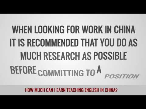 ITTT FAQs – How much can I earn teaching English in China