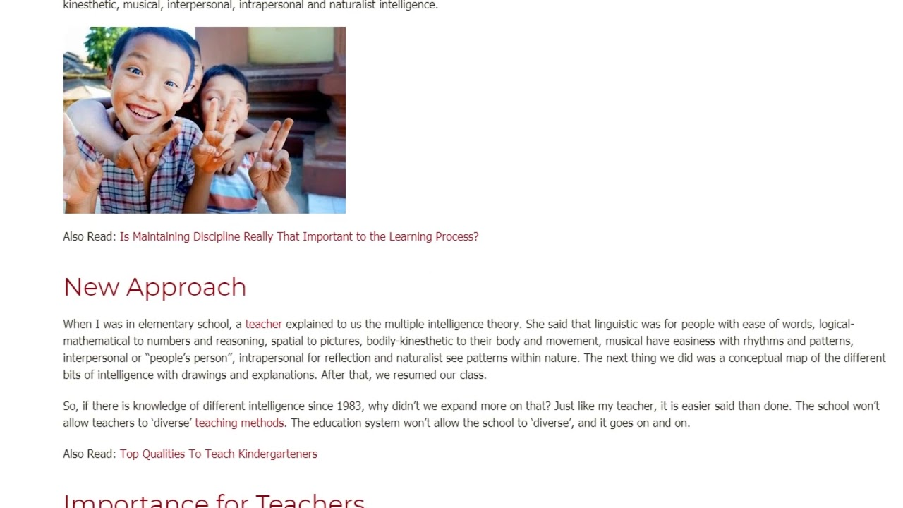 Understanding Multiple Intelligences as a Learning Bedrock   ITTT TEFL BLOG