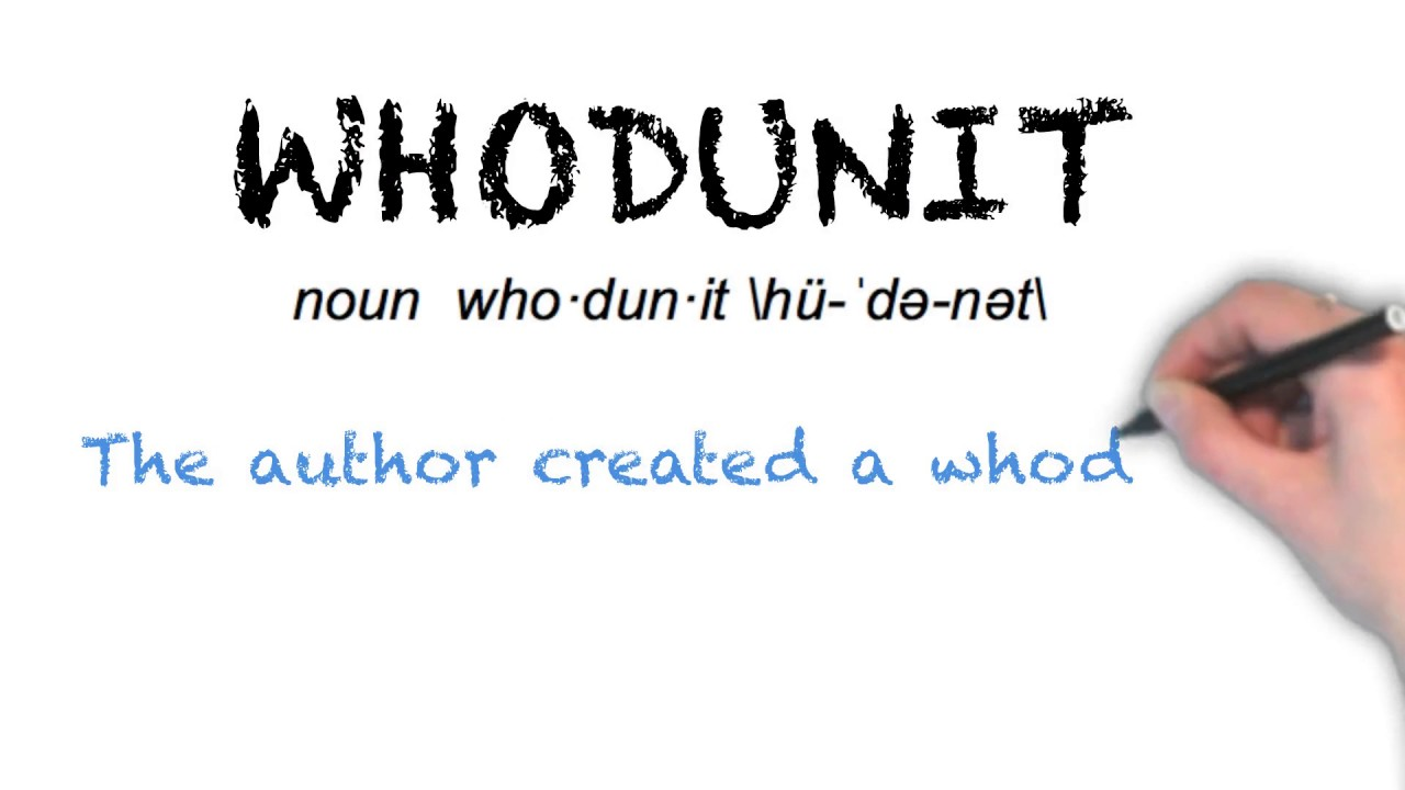 """Ask Linda How To Pronounce """"Whodunit"""""""