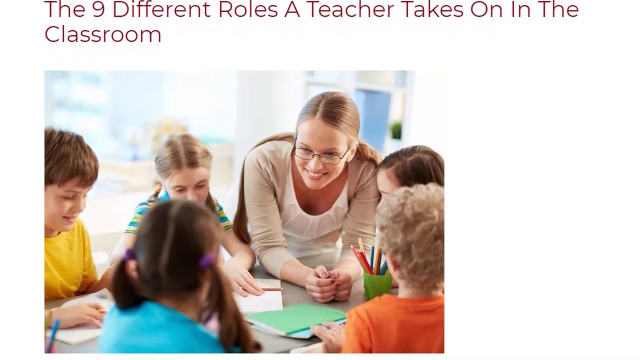 The 9 Different Roles A Teacher Takes On In The Classroom | ITTT TEFL BLOG