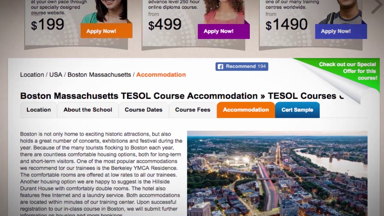 The Best TEFL Locations on the East Coast of America | ITTT TEFL BLOG