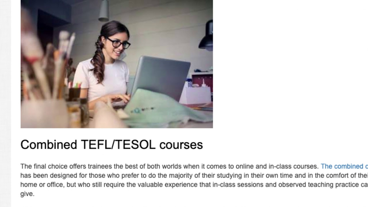 In-class and online TEFL/TESOL courses: What's the Difference? | ITTT | TEFL Blog