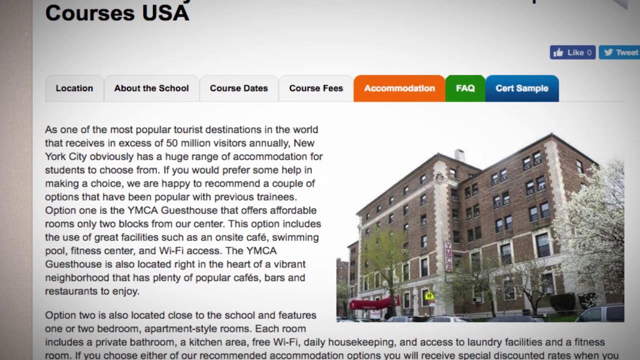 TEFL / TESOL School Accommodation in New York City, USA | Teach & Live abroad!