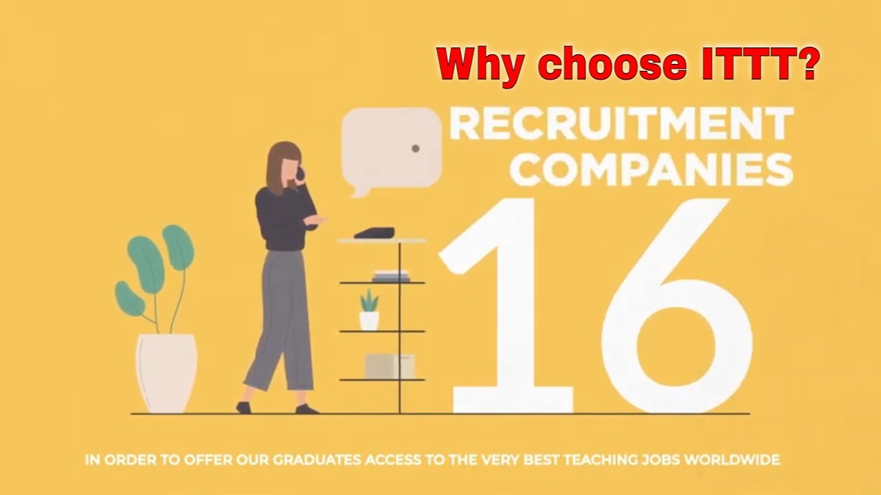 Why choose TEFL Certification with ITTT: Recruitment Partners
