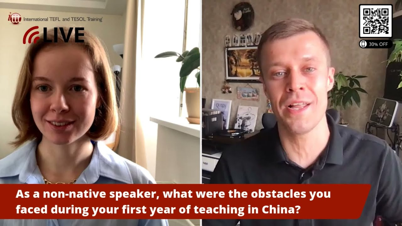 Teach English as a Non-Native Speaker: Possible Obstacles in China
