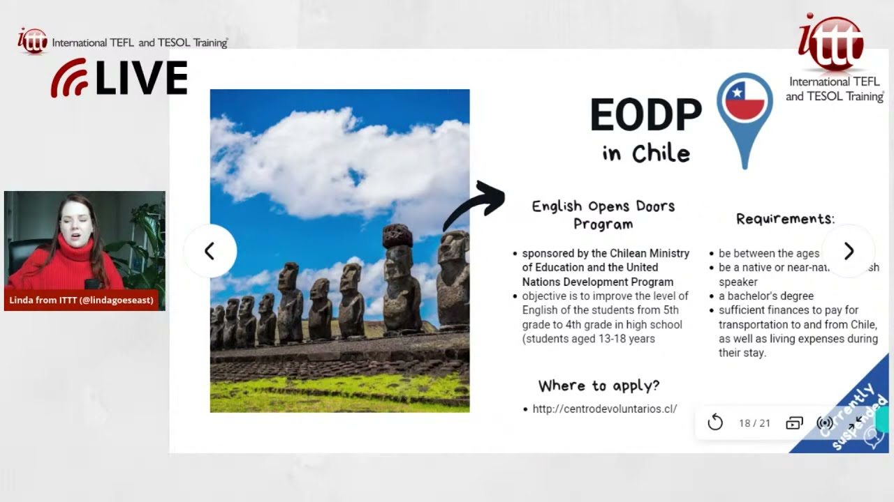 Teaching English Abroad: EODP Program in Chile
