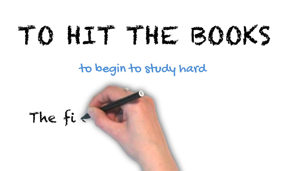 To Hit The Books | Ask Linda! | Idioms
