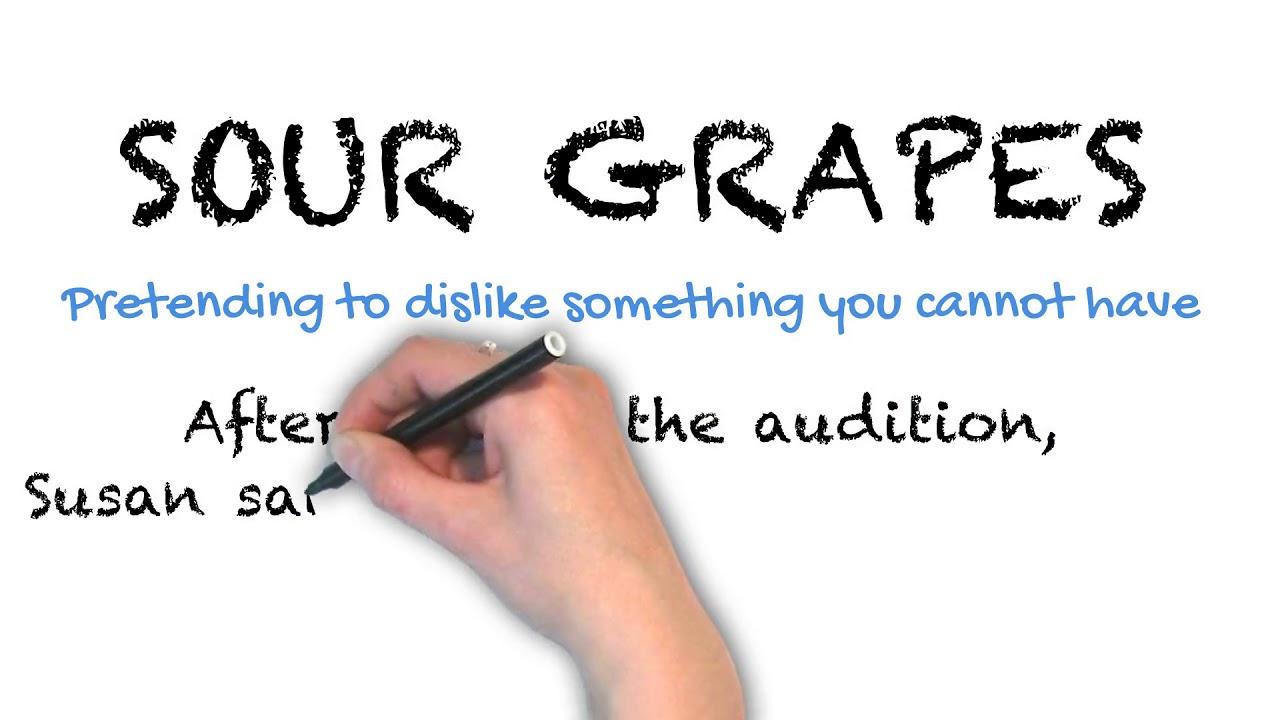 Sour Grapes   Ask Linda!   Idioms