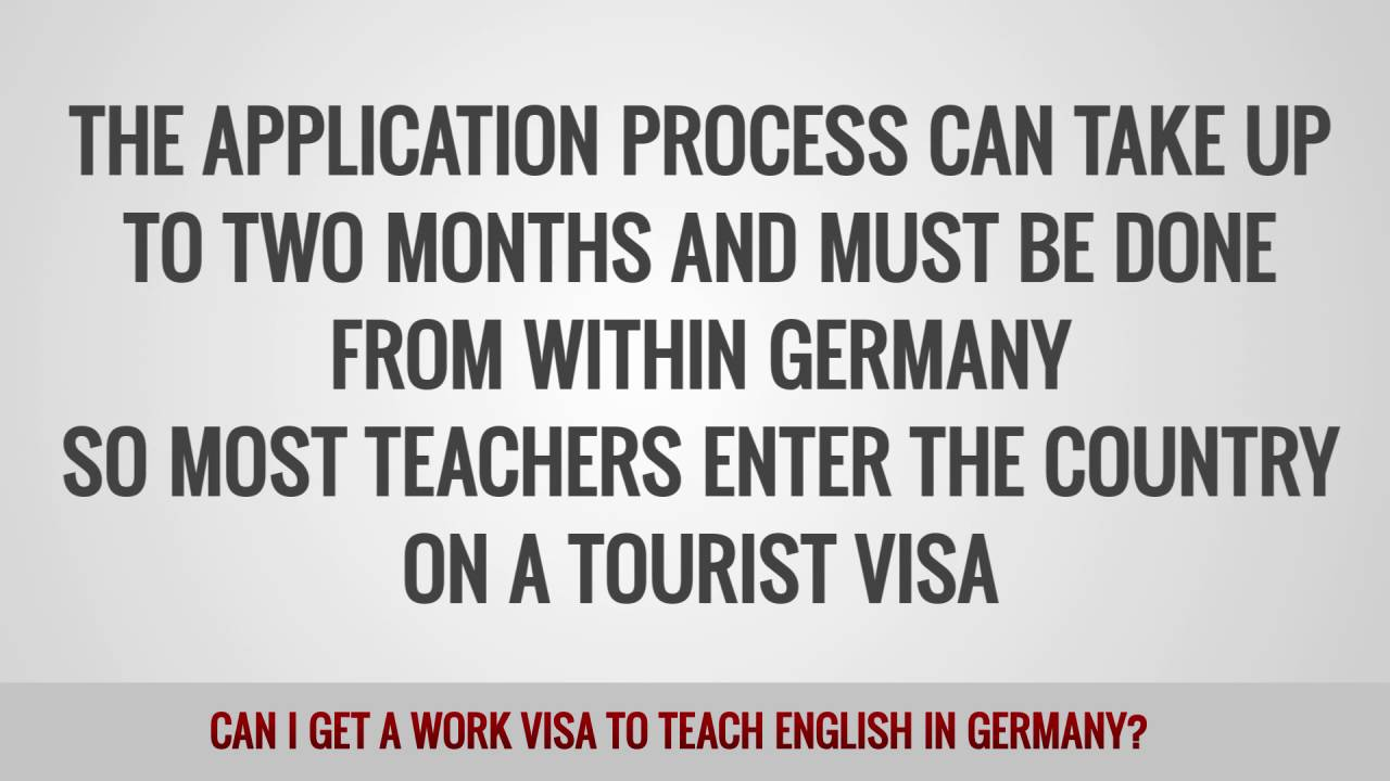 ITTT FAQs – Can I get a work visa to teach English in Germany?