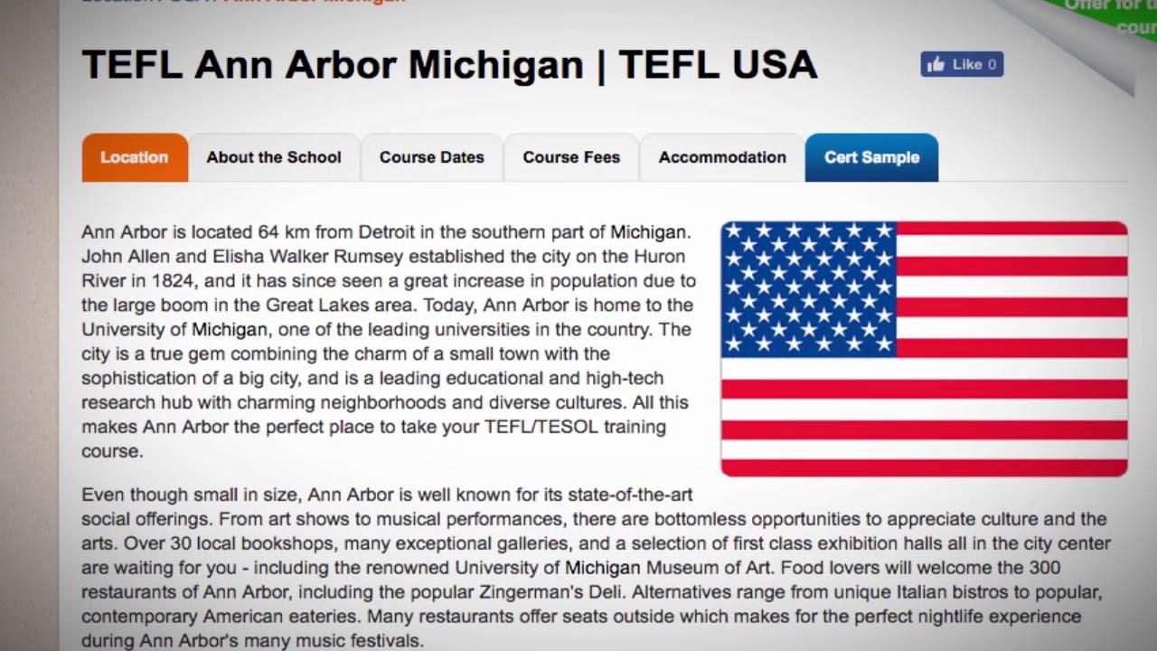 TEFL Ann Arbor
