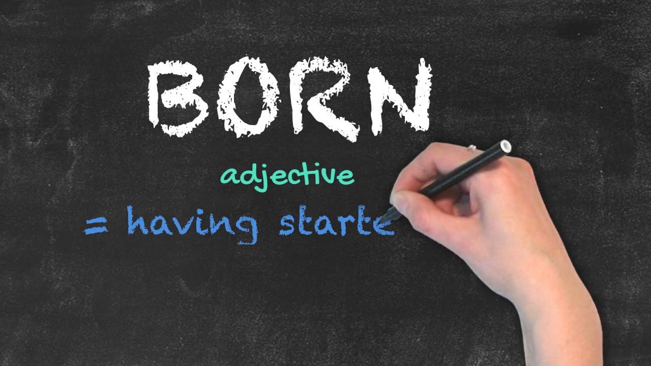 Born vs Borne | Ask Linda! | English Grammar