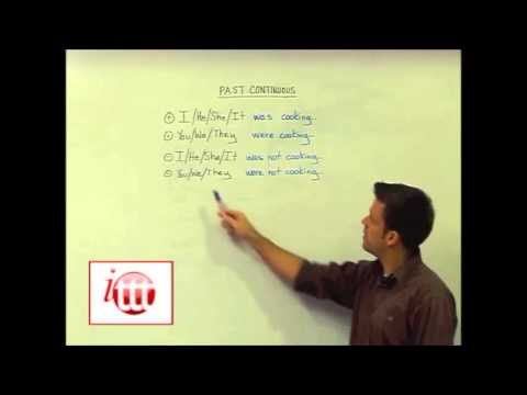 English Grammar – Past Continuous – Structure – Teaching English Online
