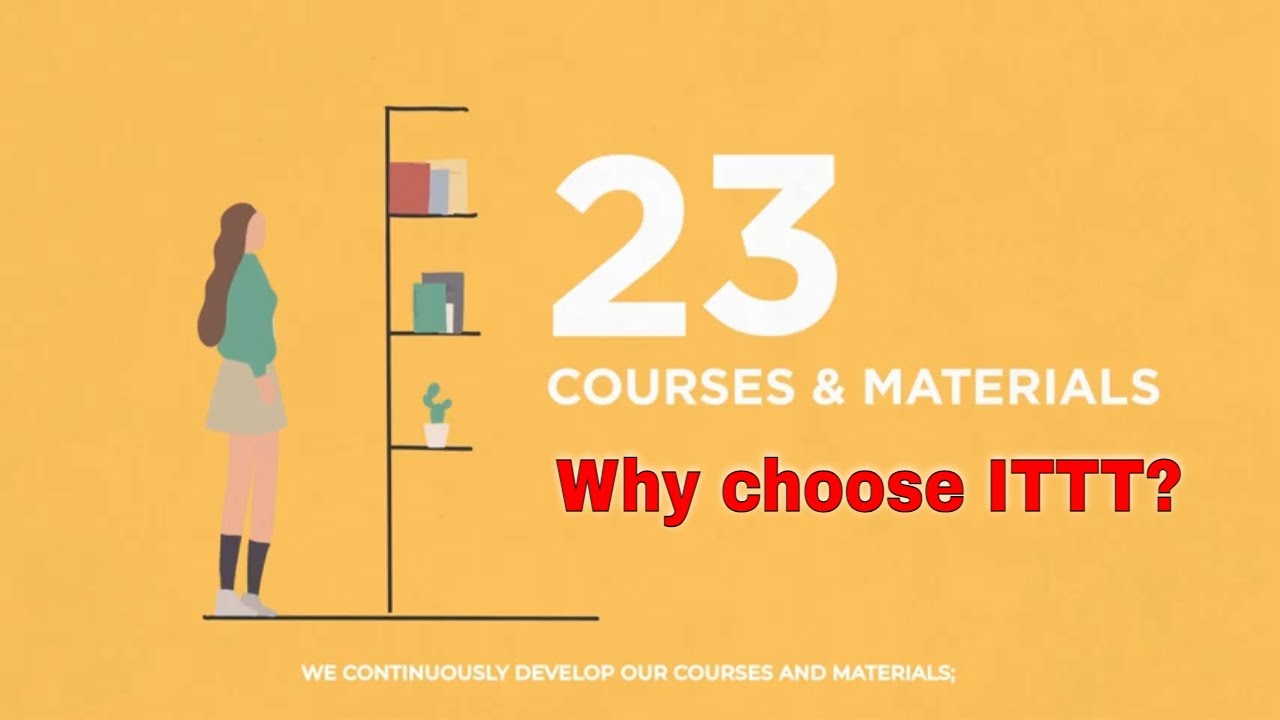 Why choose TEFL Certification with ITTT: Development of Courses & Materials