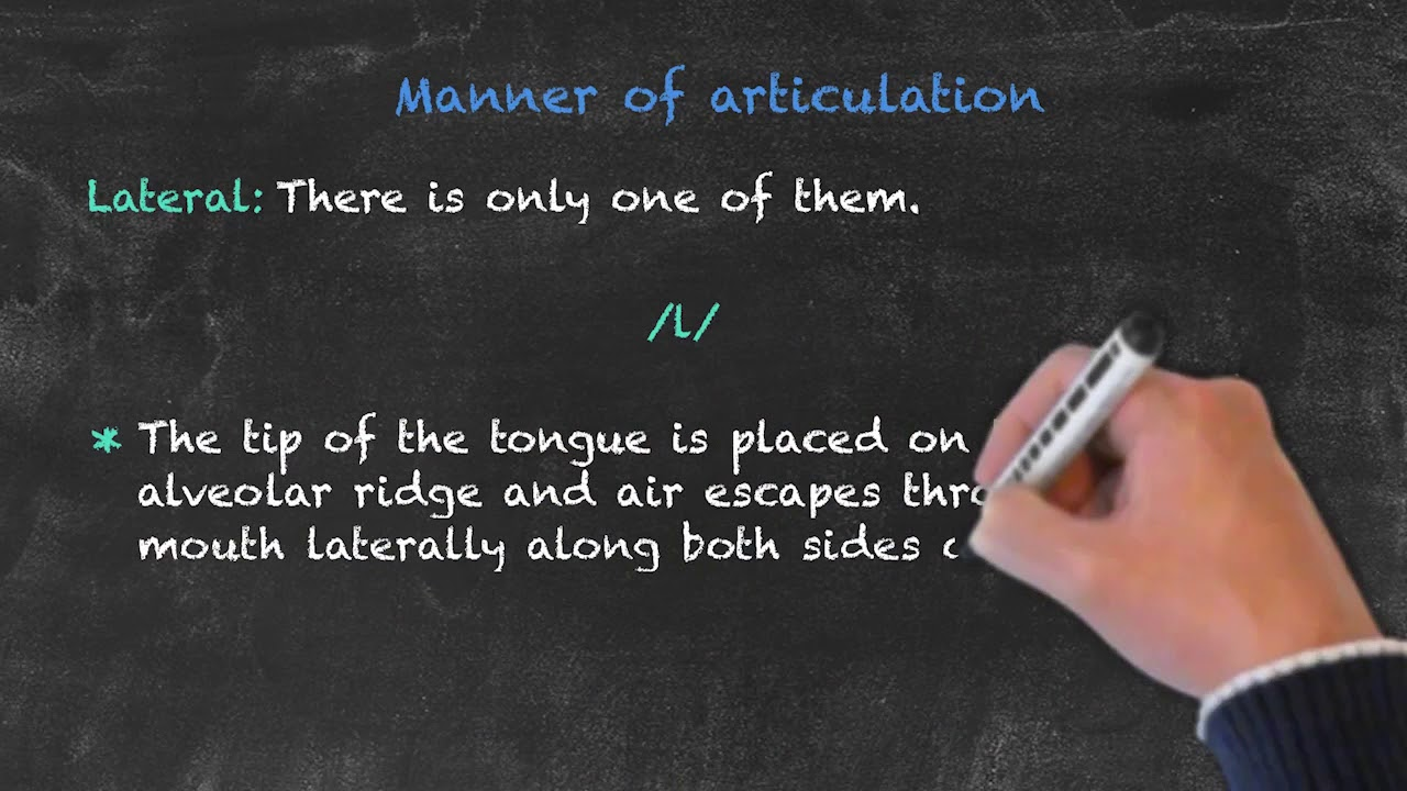 Pronunciation and phonology in the EFL Classroom  – Manner of Articulation Pt. 3