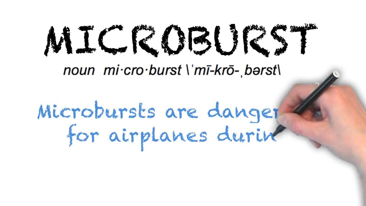 How To Pronounce 'MICROBURST' | Ask Linda | Pronunciation