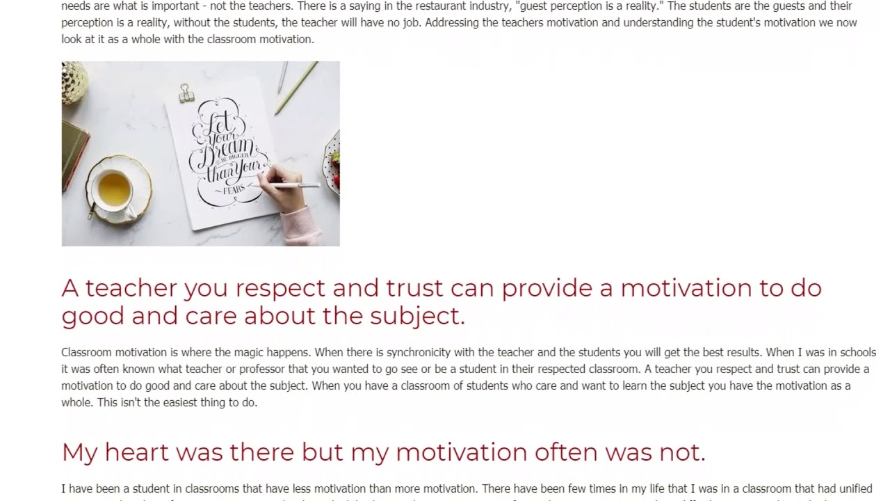 Motivation in the Classroom – What Works and What Doesn't | ITTT TEFL BLOG