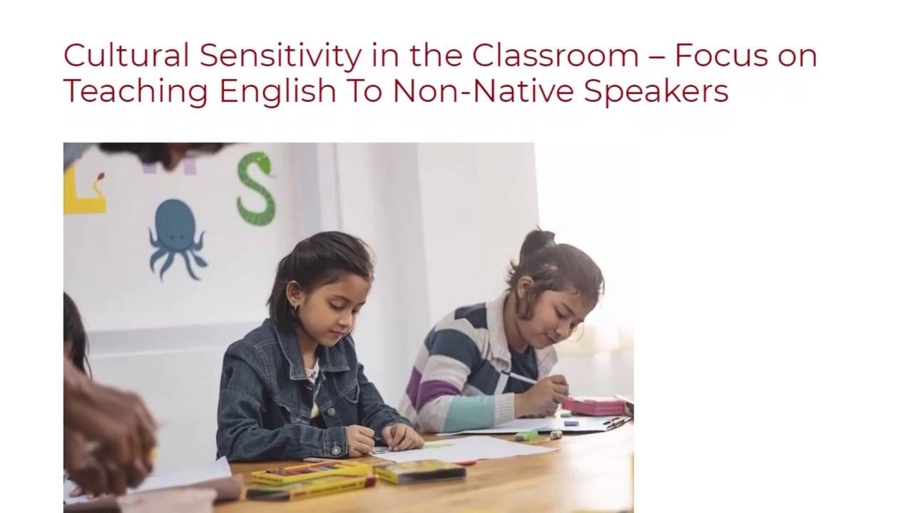 Focus on Teaching English To Non-Native Speakers   ITTT TEFL BLOG