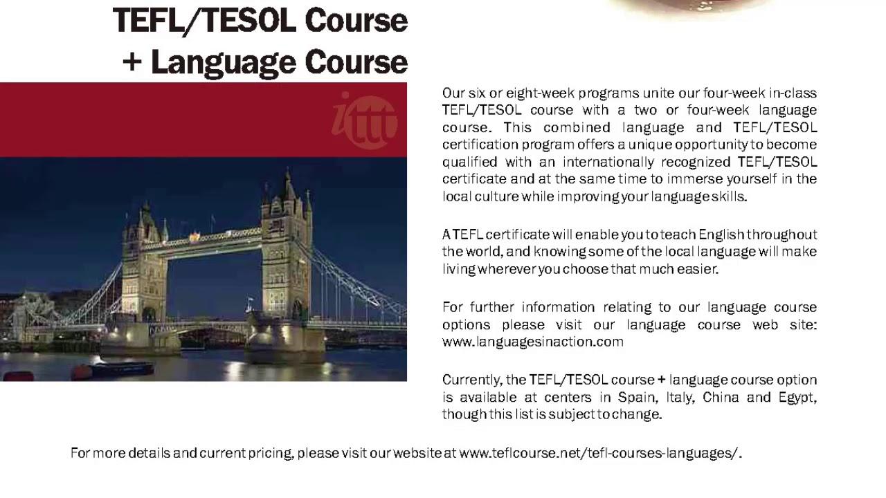 International TEFL and TESOL Training (ITTT) | TEFL/TESOL Course & Language Course