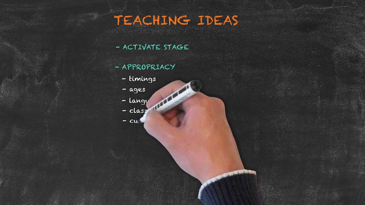 Overview of All English Tenses – Present Tenses – Teaching Idea Considerations