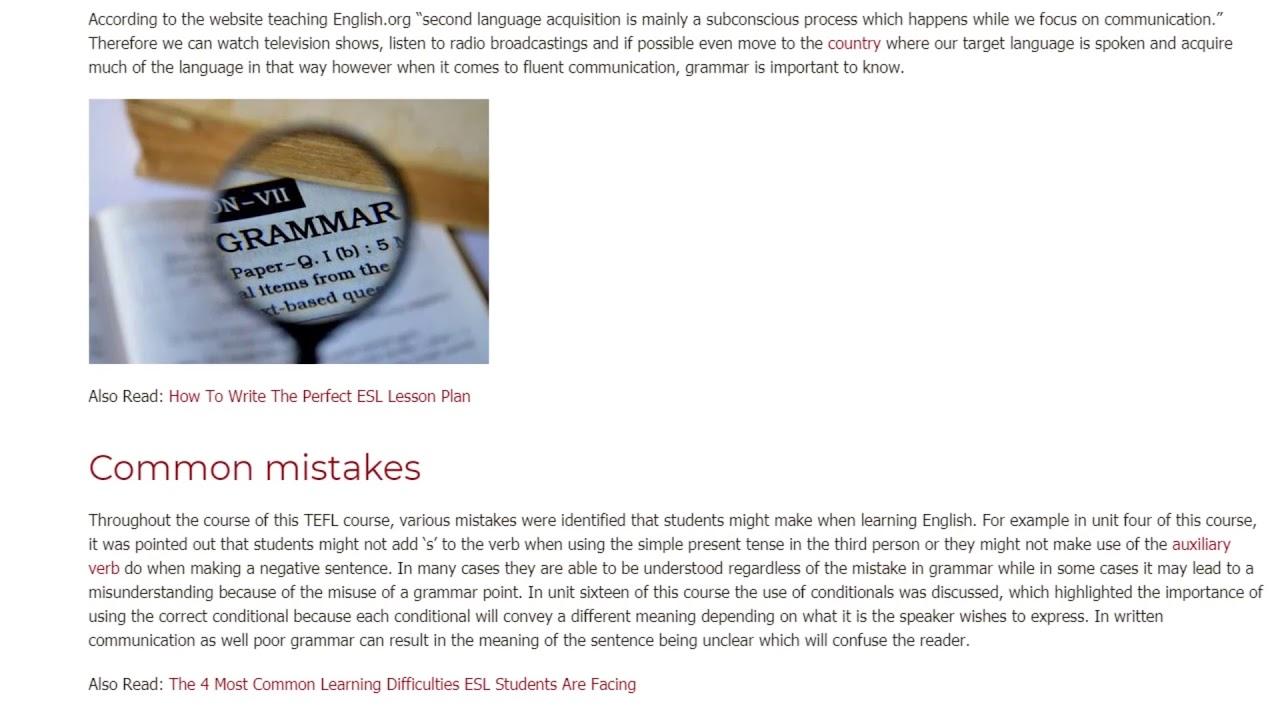 Is Grammar Still Important in Spoken English