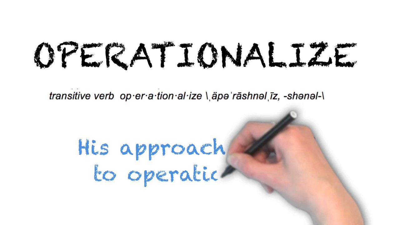 How To Pronounce 'OPERATIONALIZE' | Ask Linda! | Pronunciation