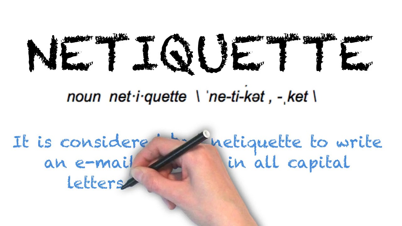 How To Pronounce 'NETIQUETTE' | Ask Linda! | Pronunciation