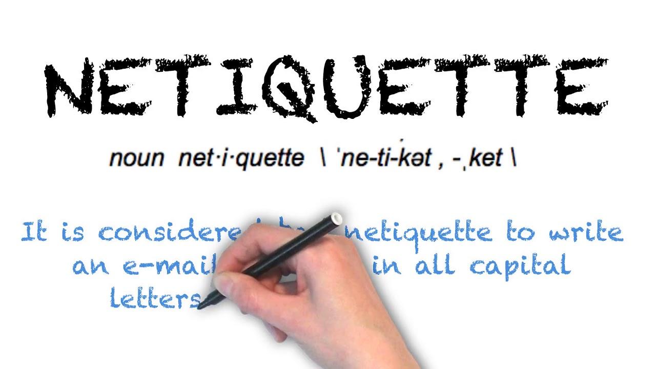 How To Pronounce 'NETIQUETTE' | Ask Linda! | Pronunciation