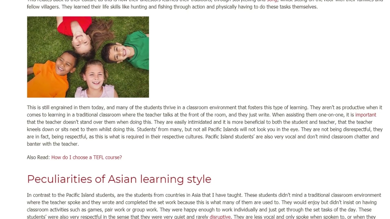How can the lack of cultural sensitivity negatively impact students learning | ITTT TEFL BLOG