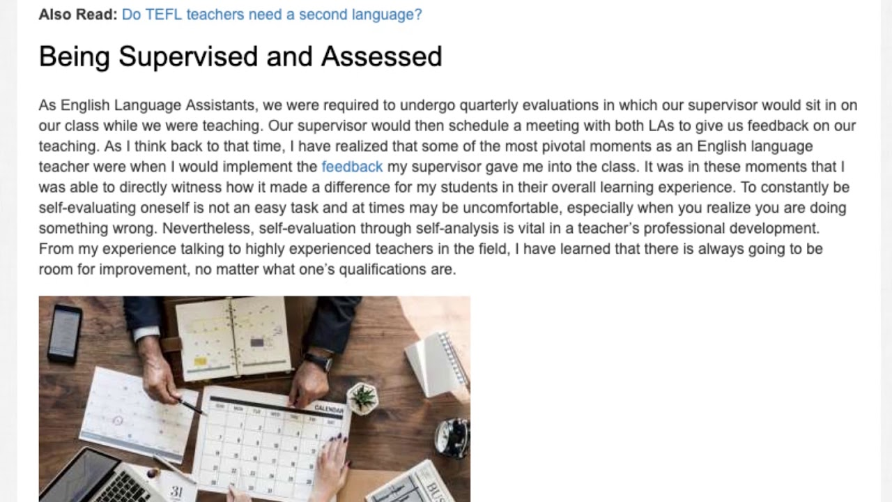 When a Teacher Becomes a Student: Reflecting On Your Teaching Practice
