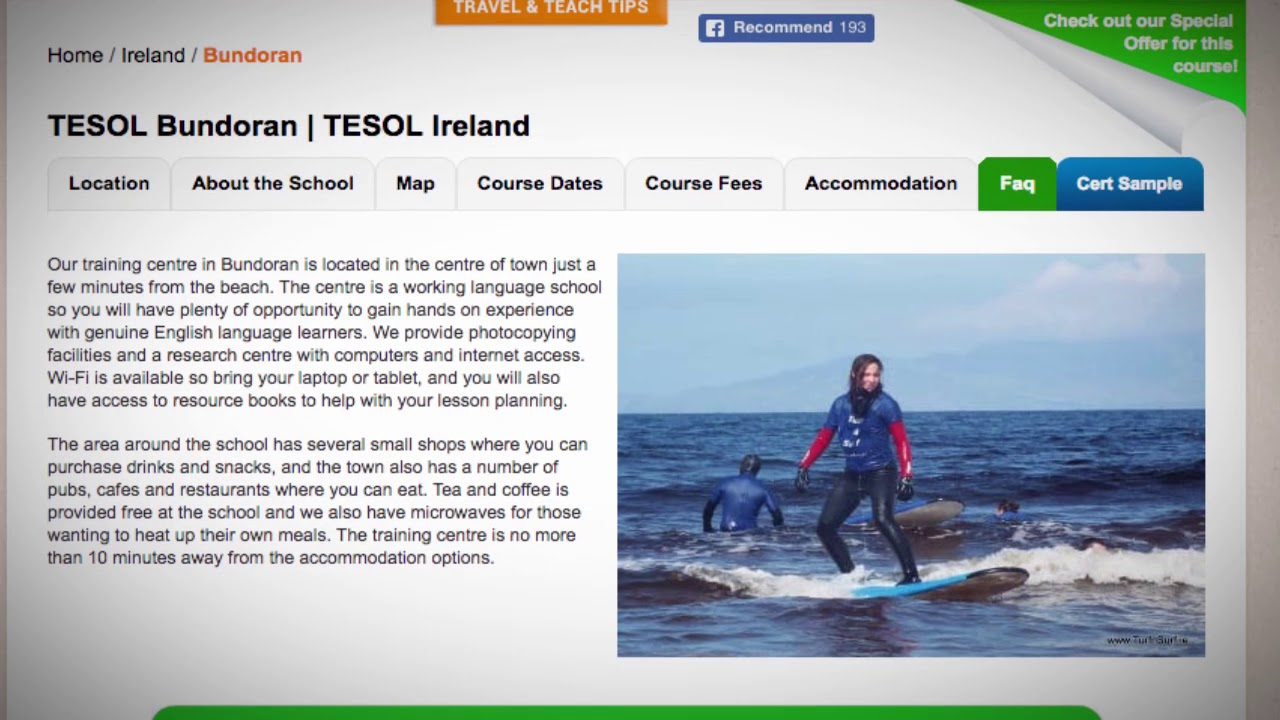 Welcome to Our TESOL School in Bundoran, Ireland | Teach & Live abroad!