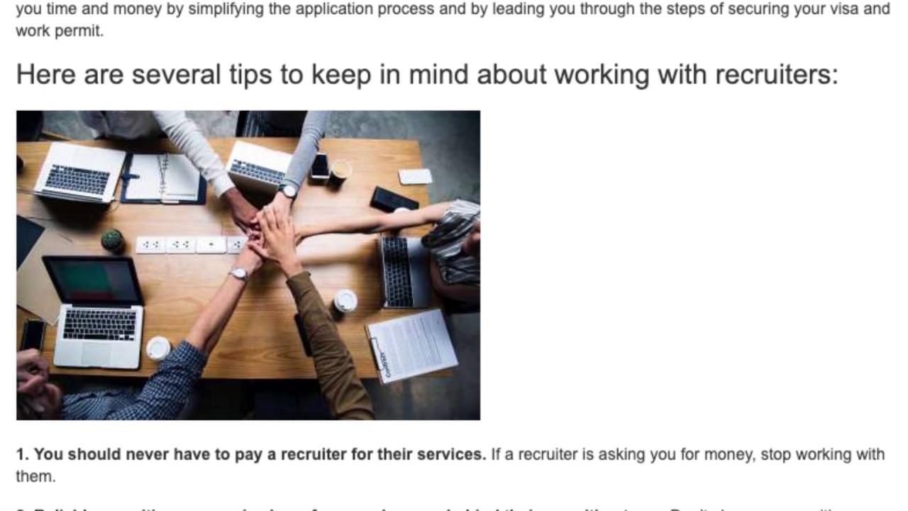 Top Reasons to Choose a Recruiter When Finding a Job Teaching English Abroad | ITTT TEFL BLOG