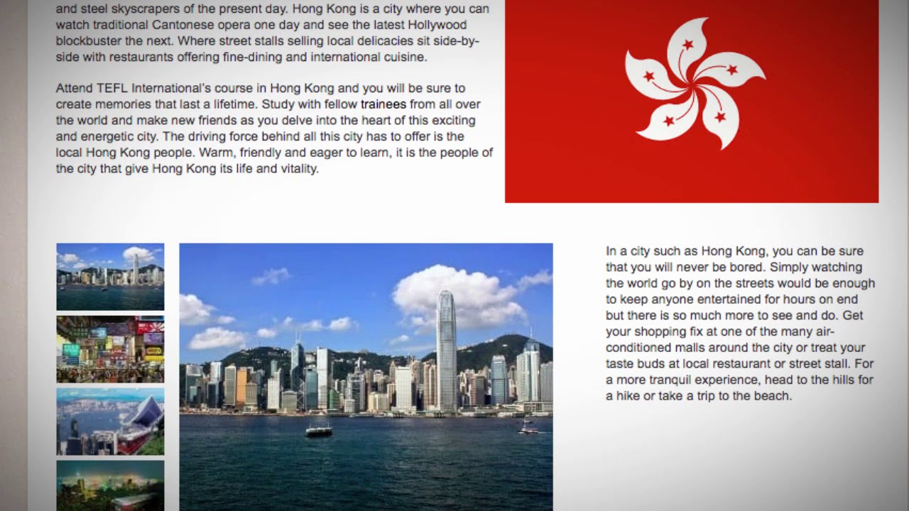 TESOL Course in Hong Kong | Teach & Live abroad!