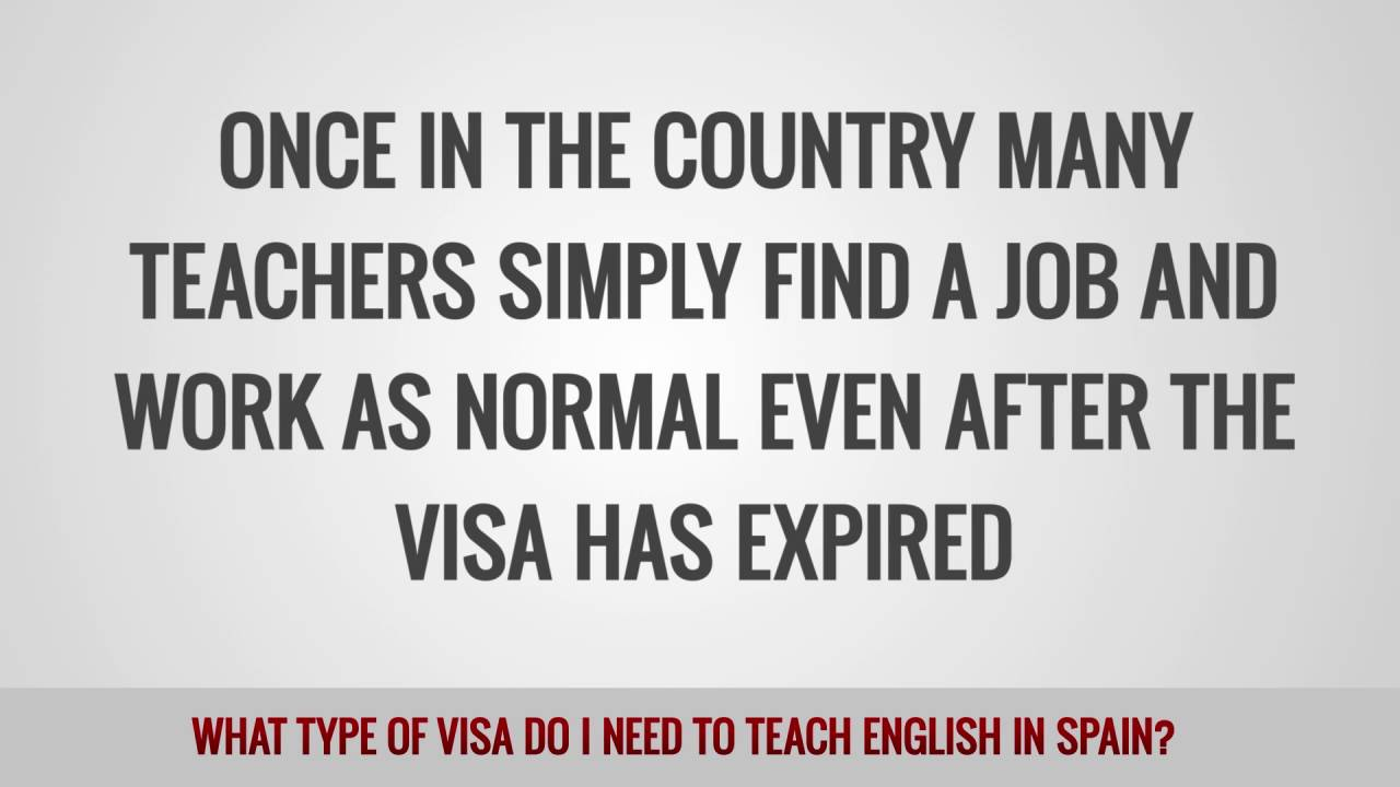 ITTT FAQs – What type of visa do I need to teach English in Spain?