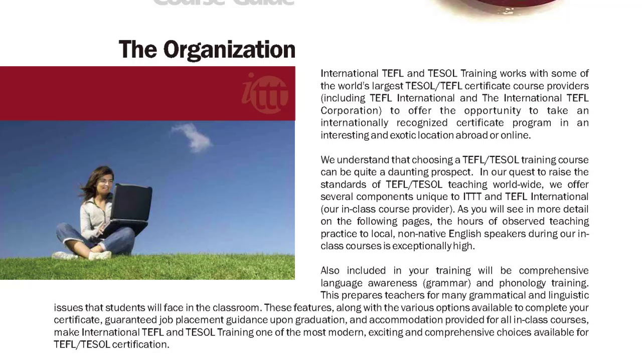 International TEFL and TESOL Training (ITTT) | This is ITTT!