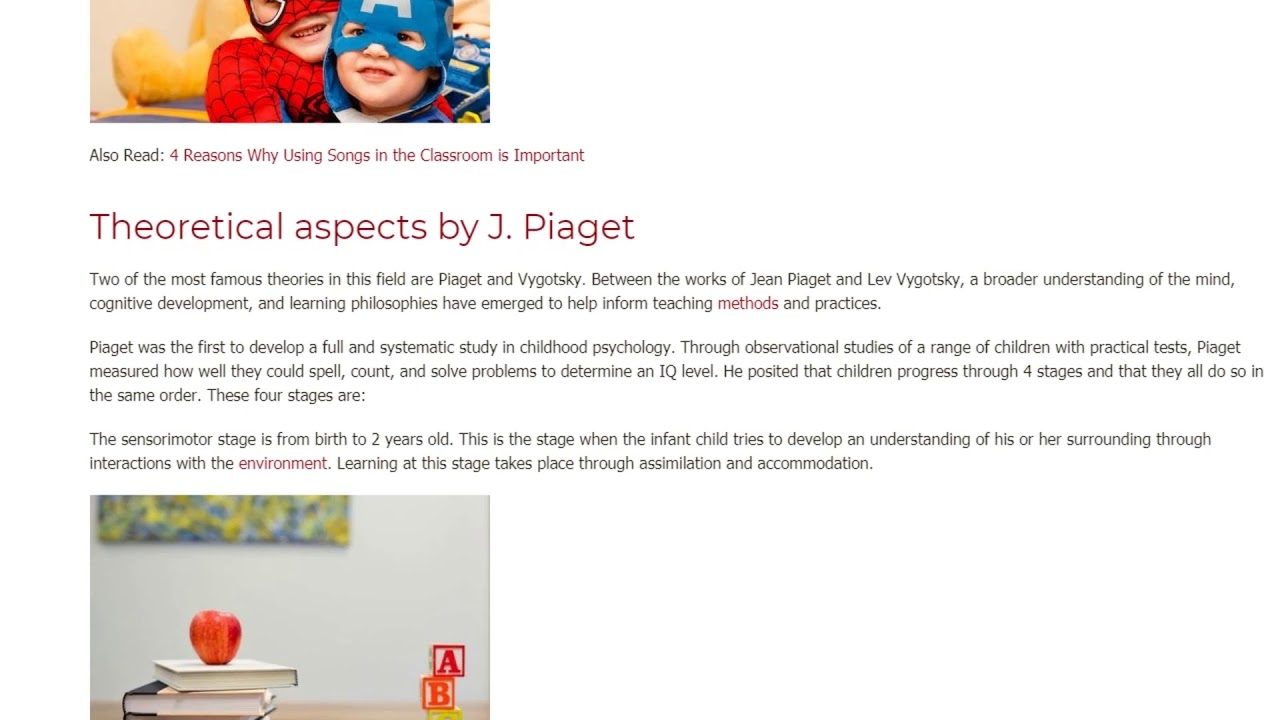 Child Development According to J. Piaget and L. Vygotsky | ITTT TEFL BLOG