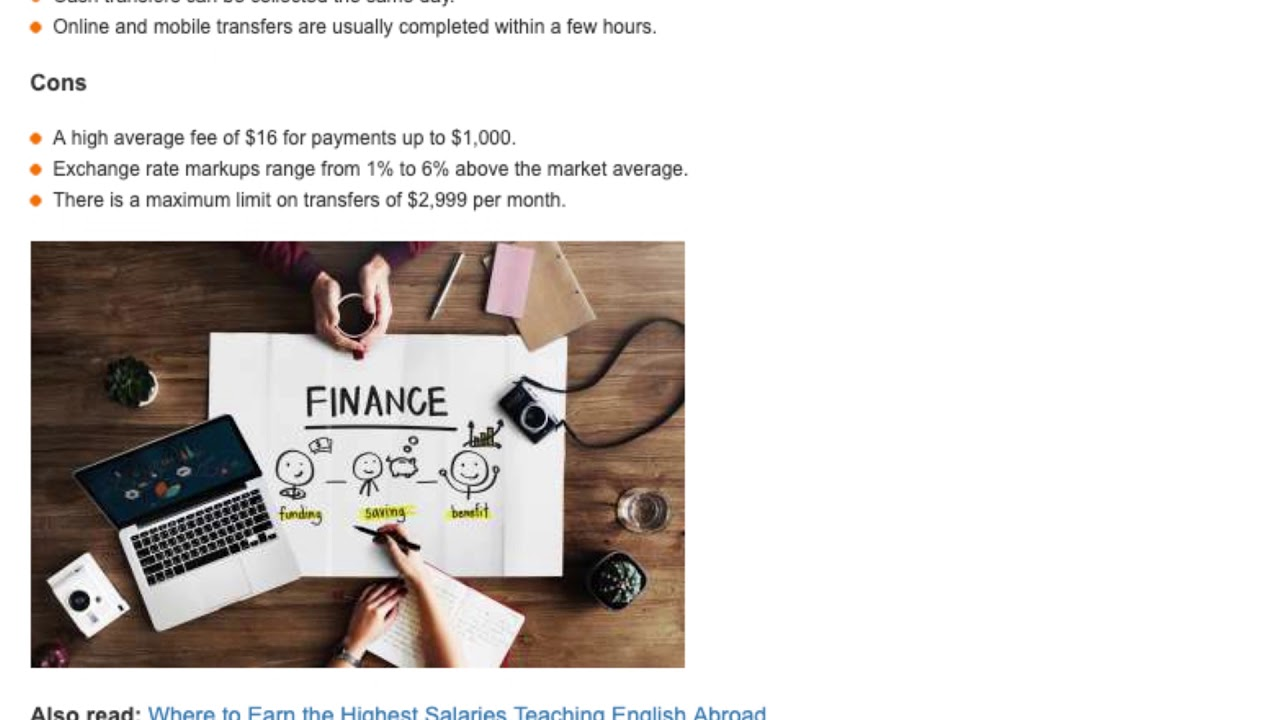 Top Tips for Sending Money Back Home While Teaching English Overseas   ITTT TEFL BLOG