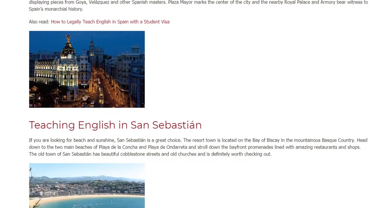 9 Stunning Cities in Spain for Teaching English Abroad | ITTT TEFL BLOG