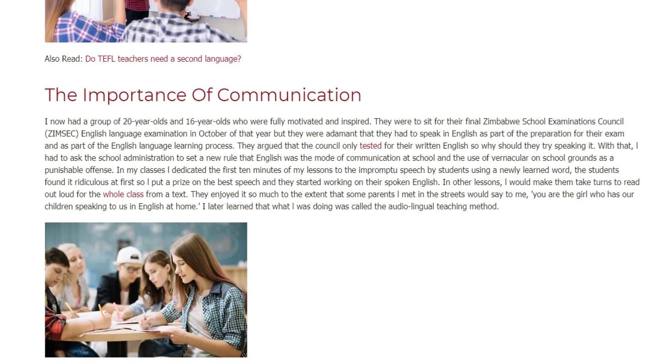 Comparative Teaching Methodologies   ITTT TEFL BLOG