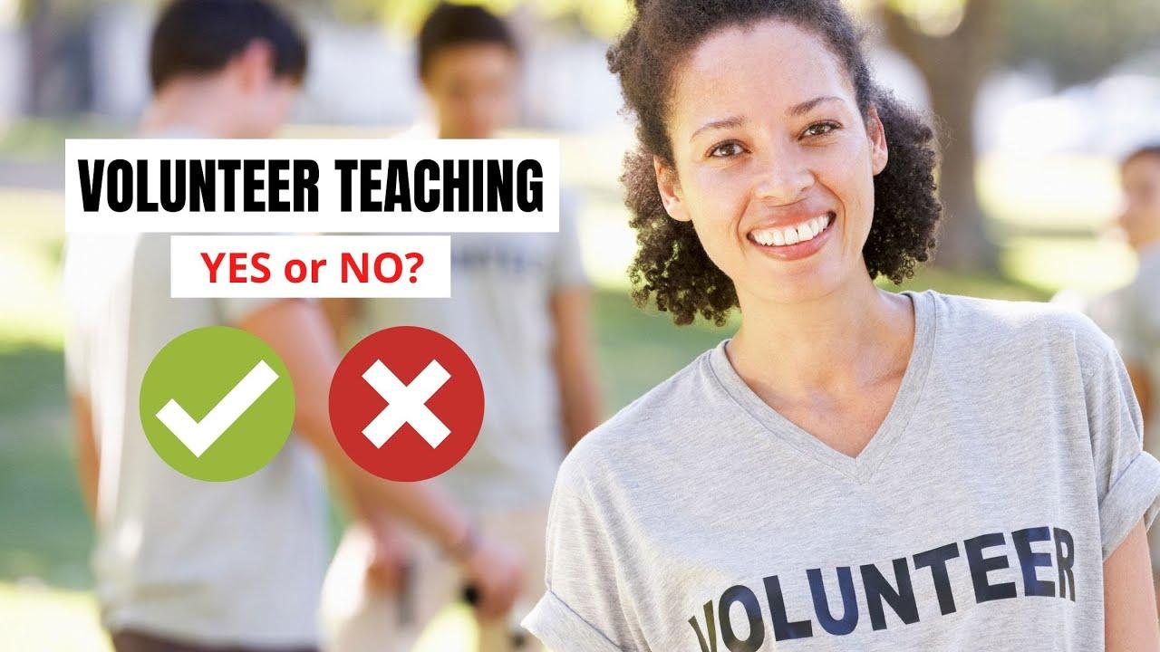 Benefits and Challenges of Being a Volunteer English Teacher   ITTT   TEFL Blog