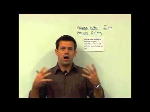 English Grammar — Present Perfect Continuous — Teaching Ideas 3 — Pay for English Teachers