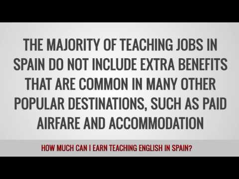 ITTT FAQs – How much can I earn teaching English in Spain?