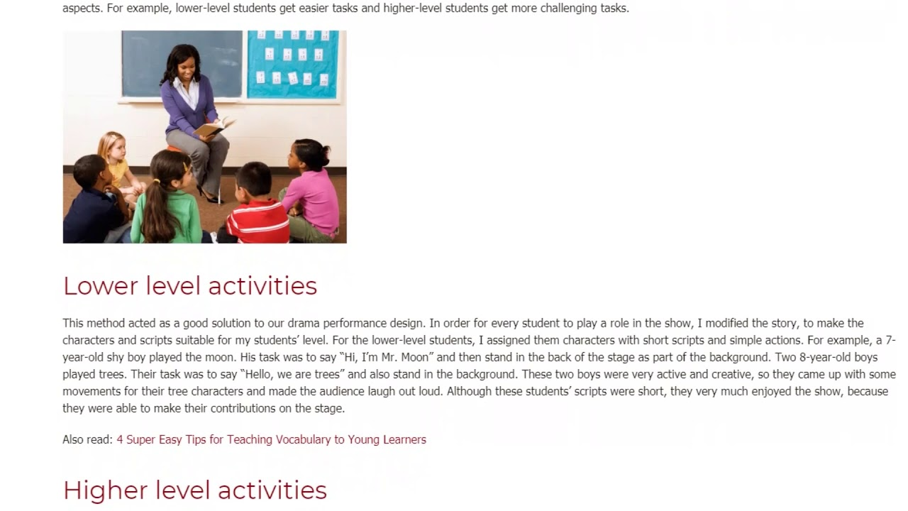 Top 4 Tips For Teaching Classes Containing a Wide Variety of Ages   ITTT TEFL BLOG