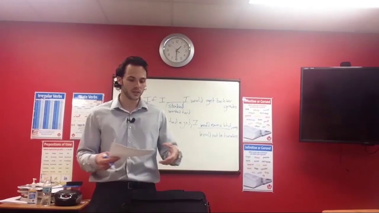 OTP English Lesson – Richard – Second Conditional Structure & Usages